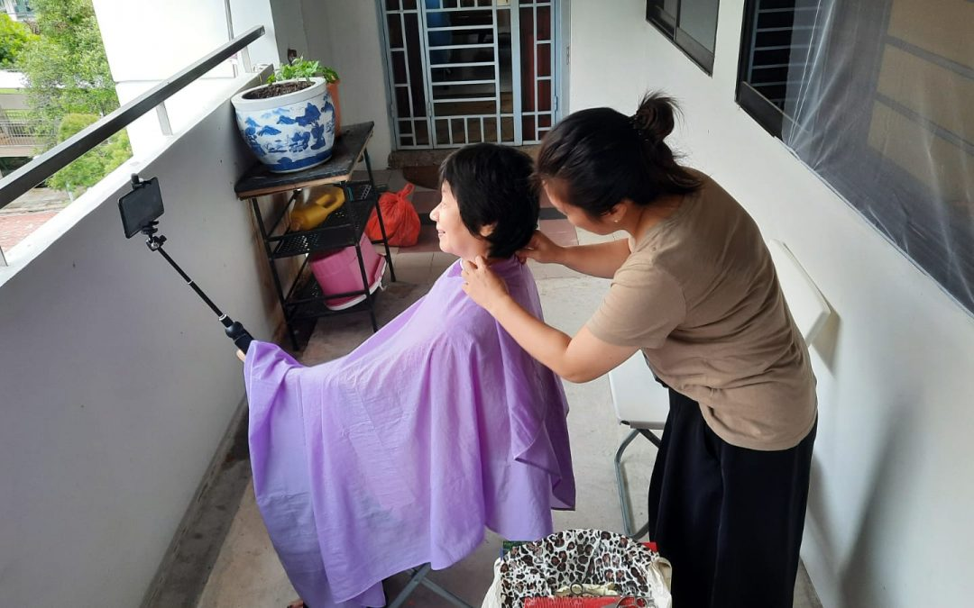 My story: What developed when I asked for help in hair cut 私の話:髪ボサボサ、どうしよう? 頼んでみて生まれた可能性